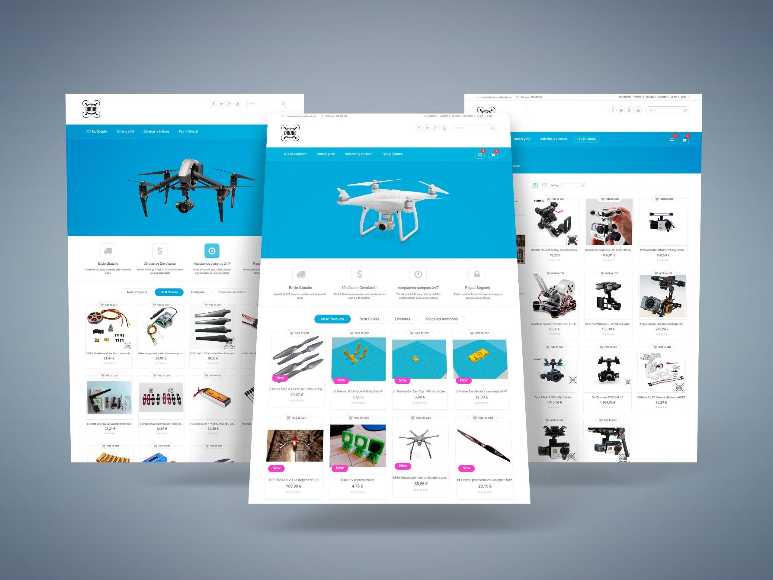 Dron Canarias Stock